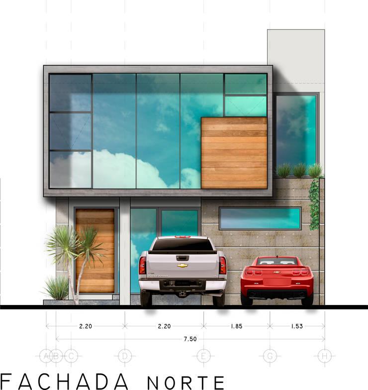 Houses by RAFAEL GUZMAN MADRID TALLER DE ARQUITECTURA,