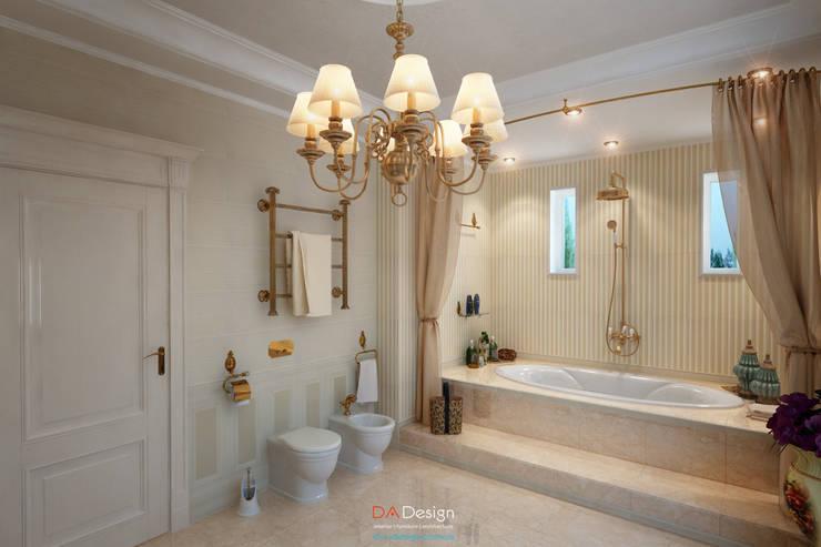 Ванные комнаты в . Автор – DA-Design, Классический