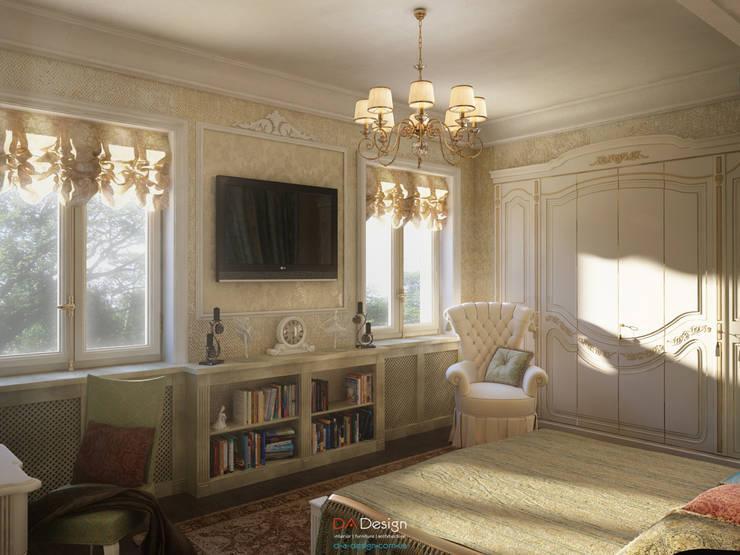 Спальни в . Автор – DA-Design, Классический