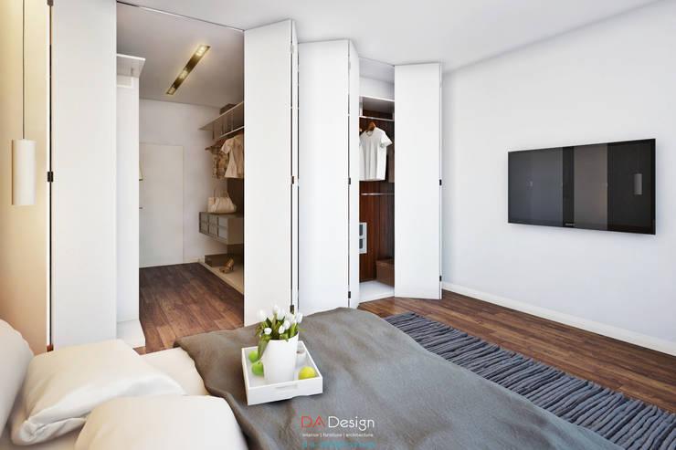 Dormitorios de estilo  de DA-Design