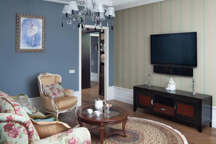ЖК <q> Северная пальмира</q> 3-комнатная квартира:  в . Автор – Pegasova design