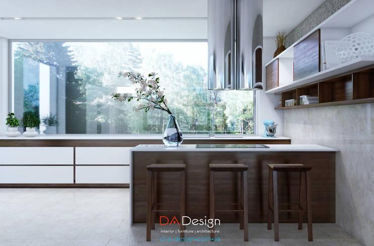 Кухни в . Автор – DA-Design, Минимализм