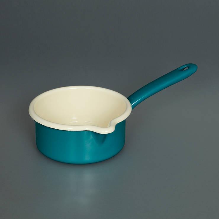 Enamel Milk Pan:  Kitchen by Labour and Wait