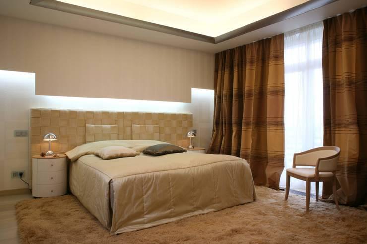 Bedroom by Архитектурное бюро Лены Гординой