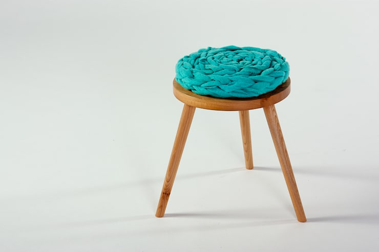 Whippy Stool:  Nursery/kid's room by Jane Crisp Bespoke Designer Maker