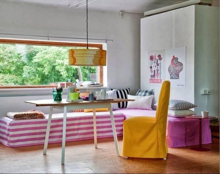 Tagesbettbezüge: skandinavische Schlafzimmer von Bemz