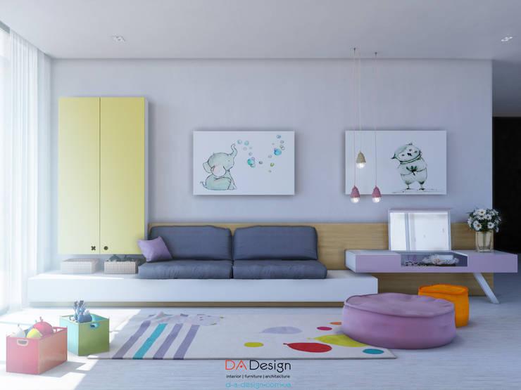 Детские комнаты в . Автор – DA-Design