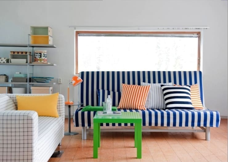 Schlaf- und Wohnzimmerkombination:  Schlafzimmer von Bemz