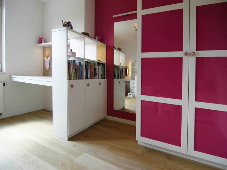 Projekty,  Pokój dziecięcy zaprojektowane przez Schindler interieurarchitecten