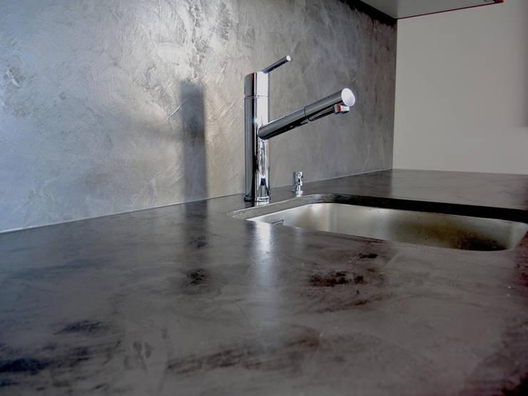 Projekty,  Kuchnia zaprojektowane przez Beton-Ciré