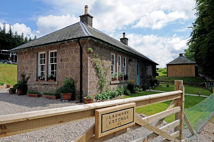 Laundry Cottage, Glen Dye, Banchory, Aberdeenshire:  Artwork by Roundhouse Architecture Ltd