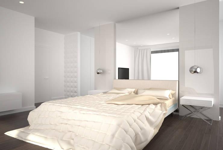 Kameleon - Kreatywne Studio Projektowania Wnętrz의  침실