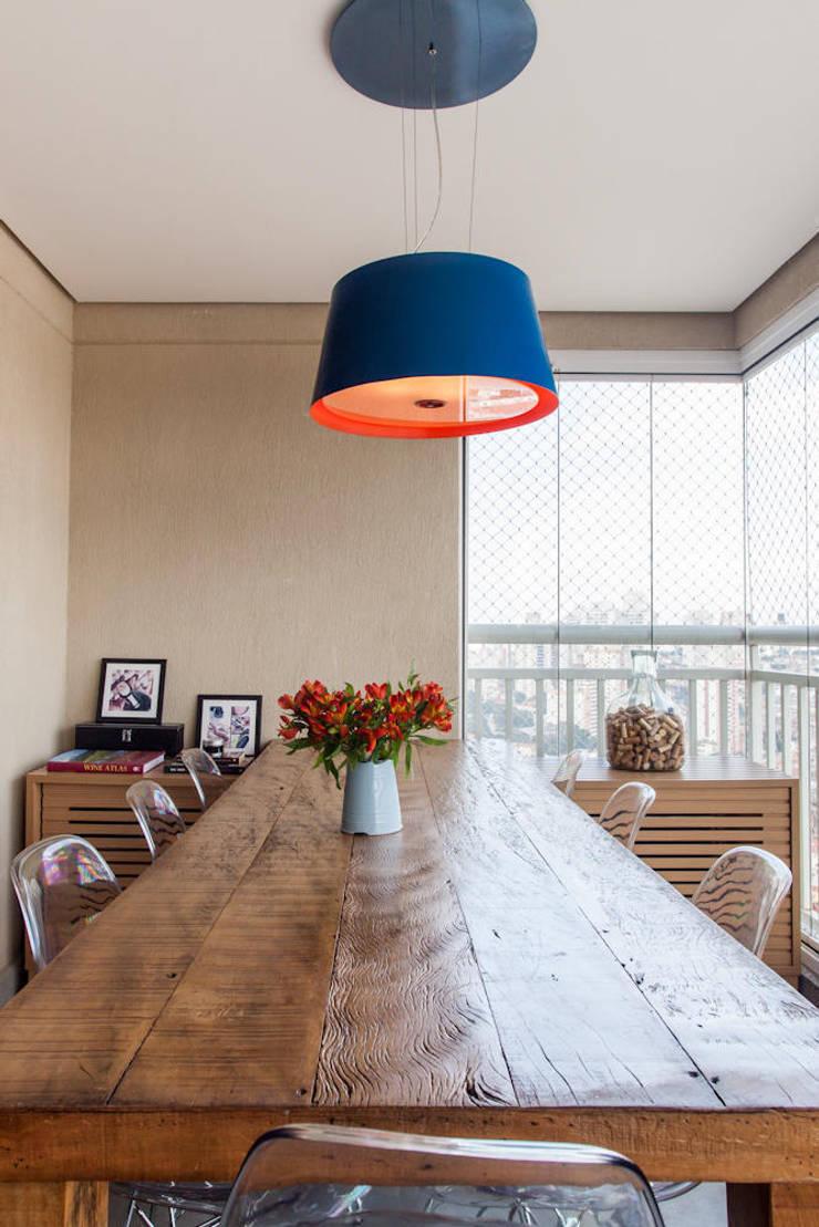 Projeto Saúde: Salas de jantar  por Melina Romano Arquitetura de Interiores,