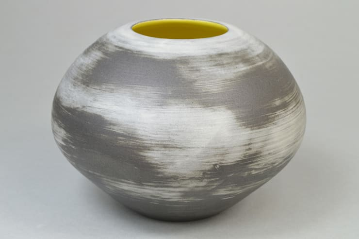 Nebula sphere, 18cm:  Artwork by Andrew Temple Smith Ceramics