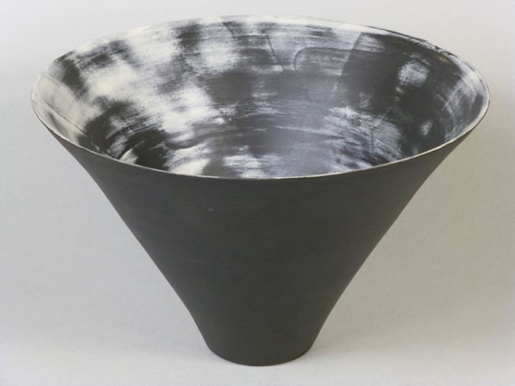 Nebula Cone Bowl, 25cm:  Artwork by Andrew Temple Smith Ceramics
