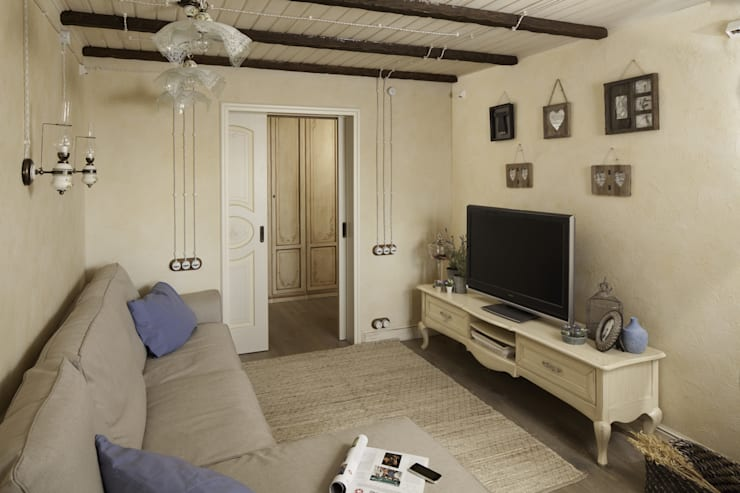 Квартира: Гостиная в . Автор – арт-квартира
