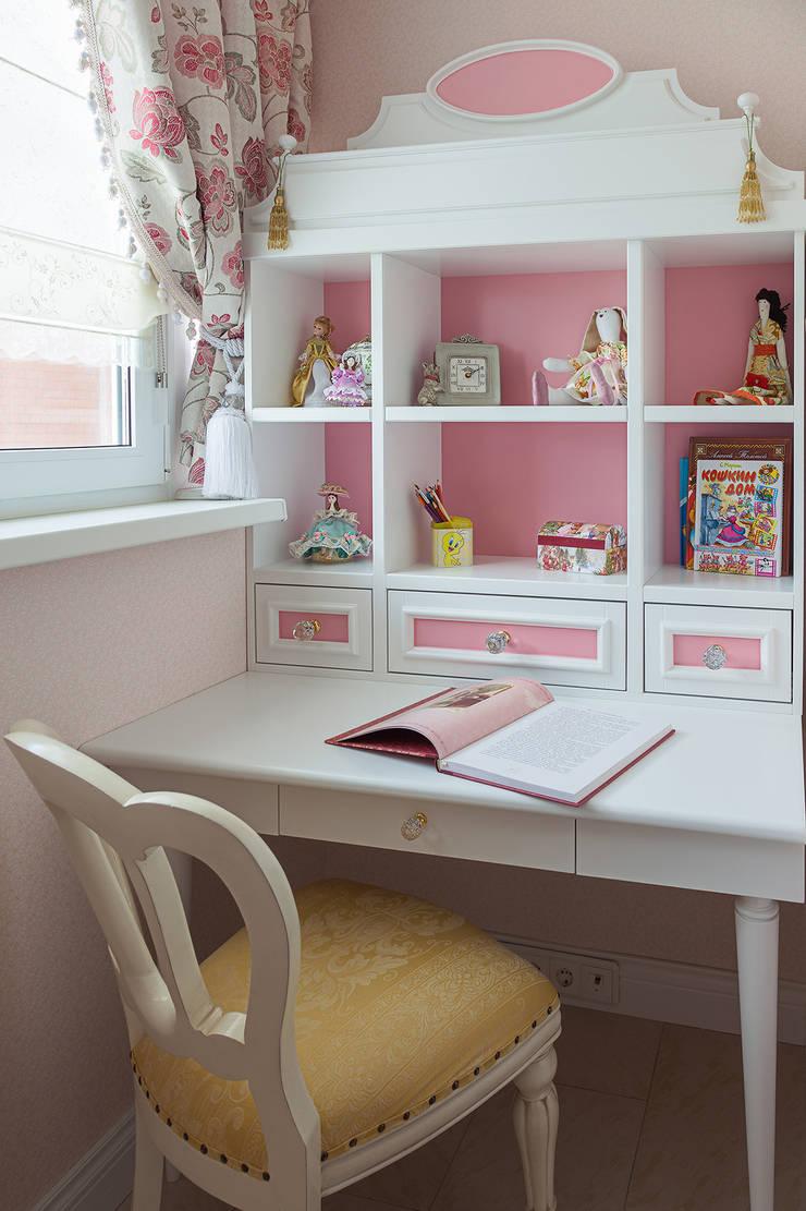 Детская девочки: Детские комнаты в . Автор – Bituleva Project