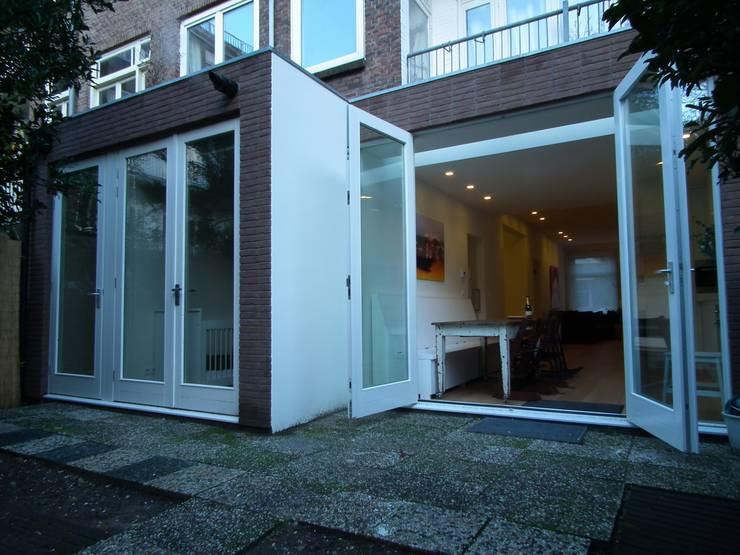 Luxe verbouwing Amsterdam:  Terras door Het Ontwerphuis