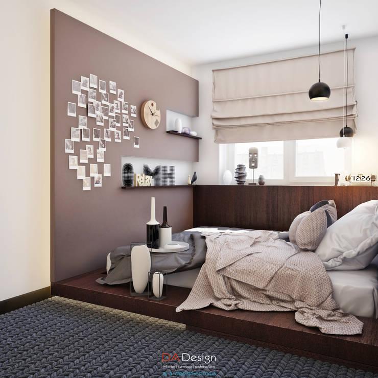 Спальни в . Автор – DA-Design