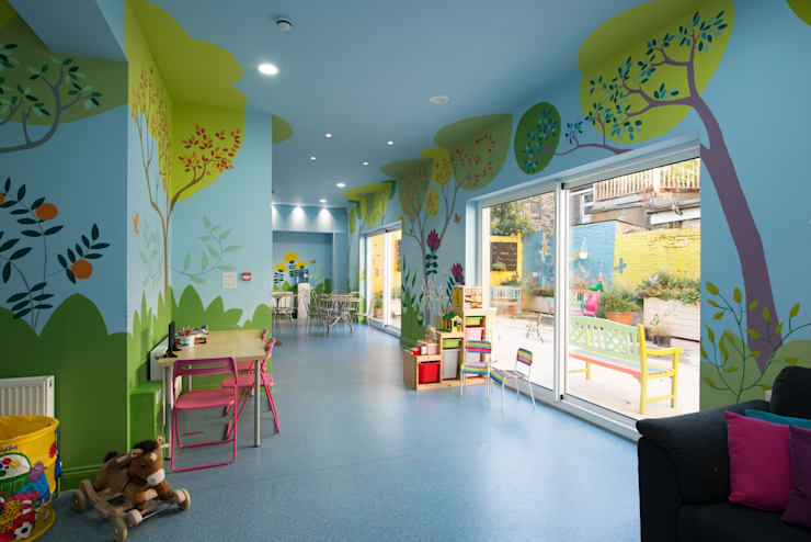 Therapy Centre for Kids:  Clinics by Cayford Architecture Ltd