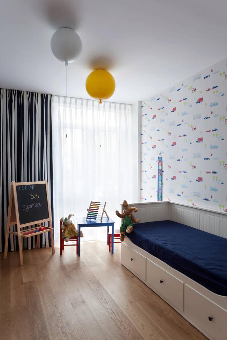 Квартира с характером: Детские комнаты в . Автор – LPetresku, Минимализм