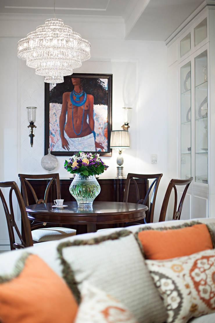 Столовая: Столовые комнаты в . Автор – Bituleva Project, Эклектичный