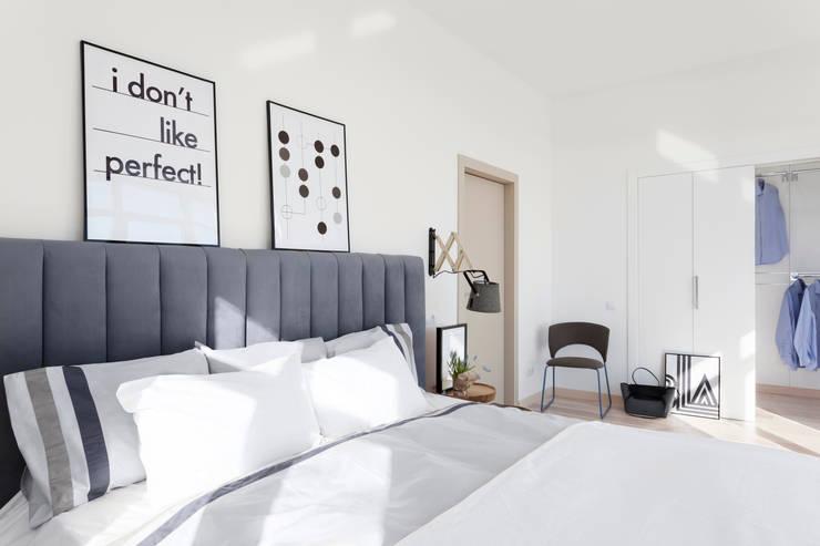 Квартира с северным акцентом: Спальни в . Автор – LPetresku
