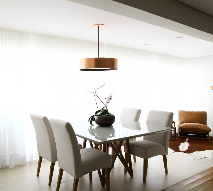 _IN Panamby II: Salas de jantar  por ARQ_IN
