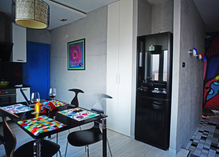 кухня-гостиная:  в . Автор – Елена Савченко. Студия интерьера