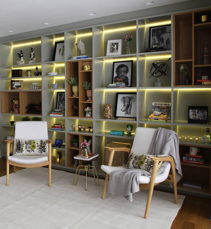 _IN Panamby II: Salas de estar  por ARQ_IN