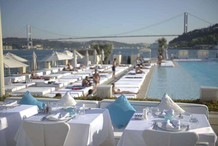 360istanbul – Istanbul 360 Suada Pool with Bosphorus View:  tarz Yeme & İçme, Akdeniz