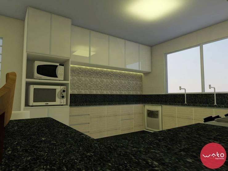Cozinha : Cozinhas  por WAKO Design de Interiores