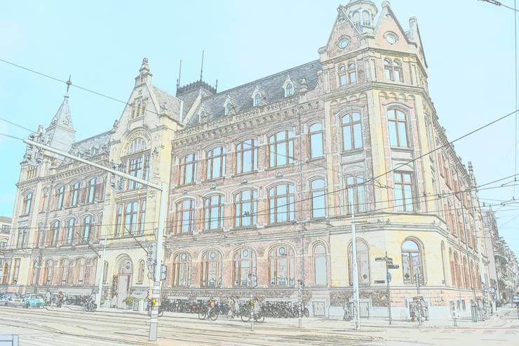 Van Baerlestraat :  Kantoren & winkels door Axel Grothausen BNI