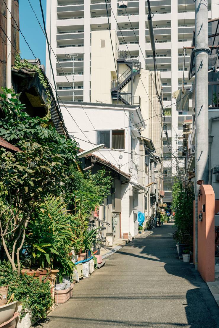 ロケーション: coil松村一輝建設計事務所が手掛けた家です。,