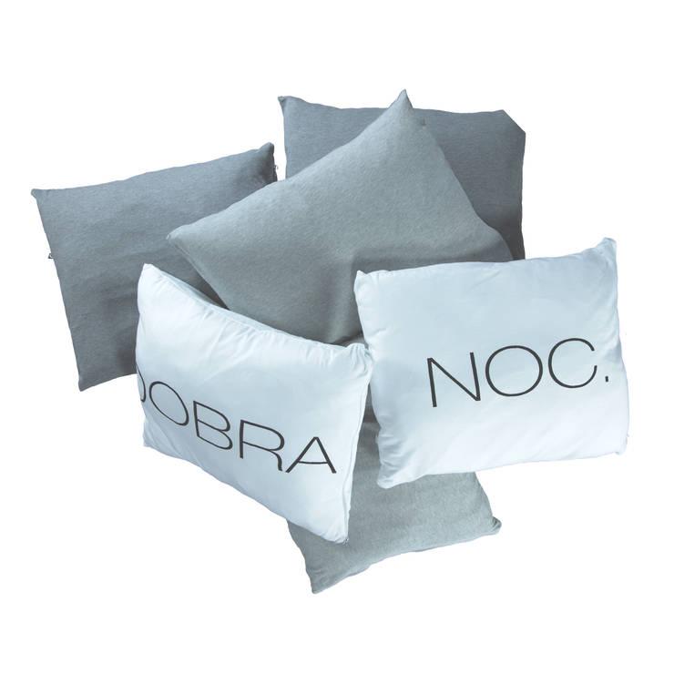 Poduszki: styl , w kategorii Sypialnia zaprojektowany przez Nocne Dobra