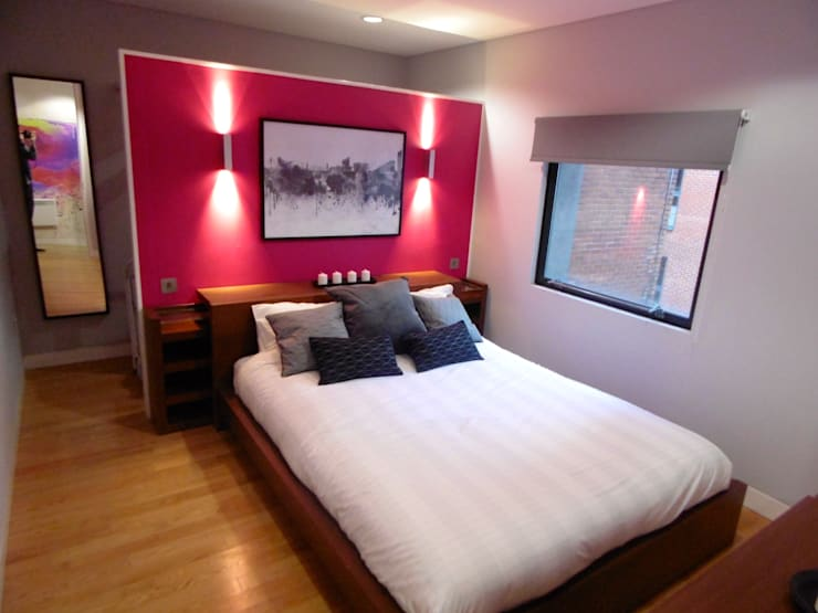 City Centre Apartment, Northern Quarter, Manchester, UK:  Bedroom by Flawless Concepts Ltd