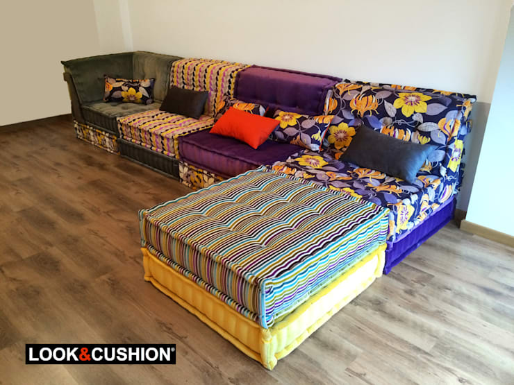 Sala de estar  por LOOK & CUSHION