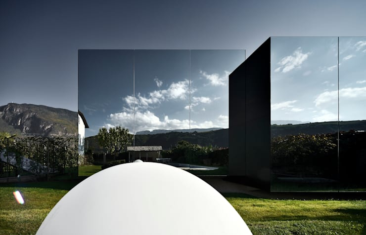 Mirror Houses Minimalist house by Peter Pichler Architecture Minimalist