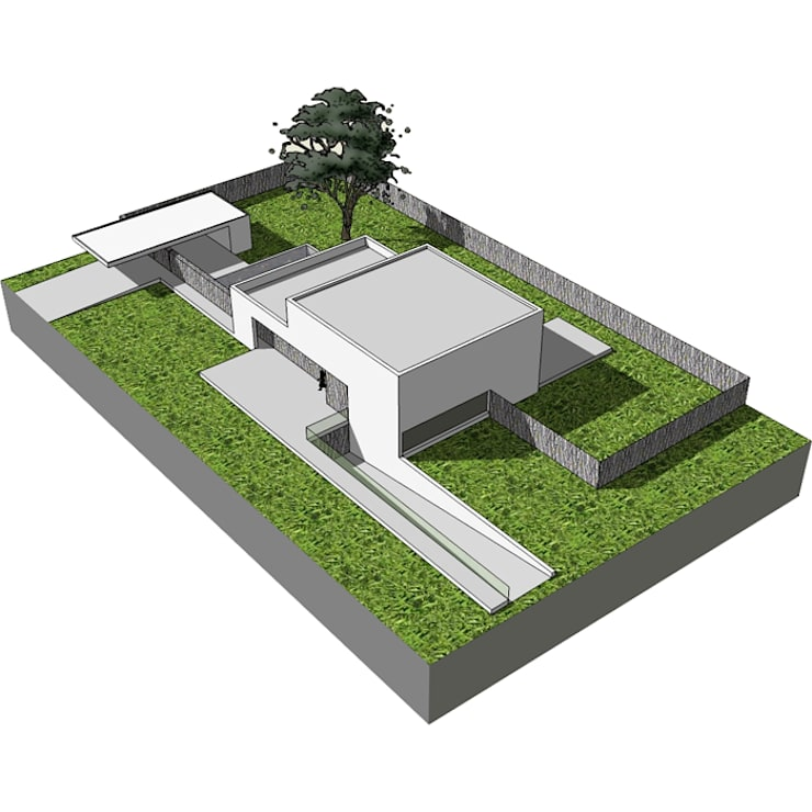 Woonhuis Lanaken:   door SeC architecten