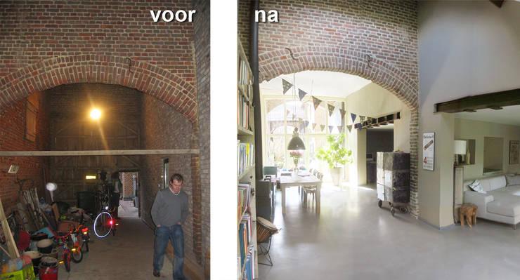 Interieur verbouwing Beek:   door SeC architecten