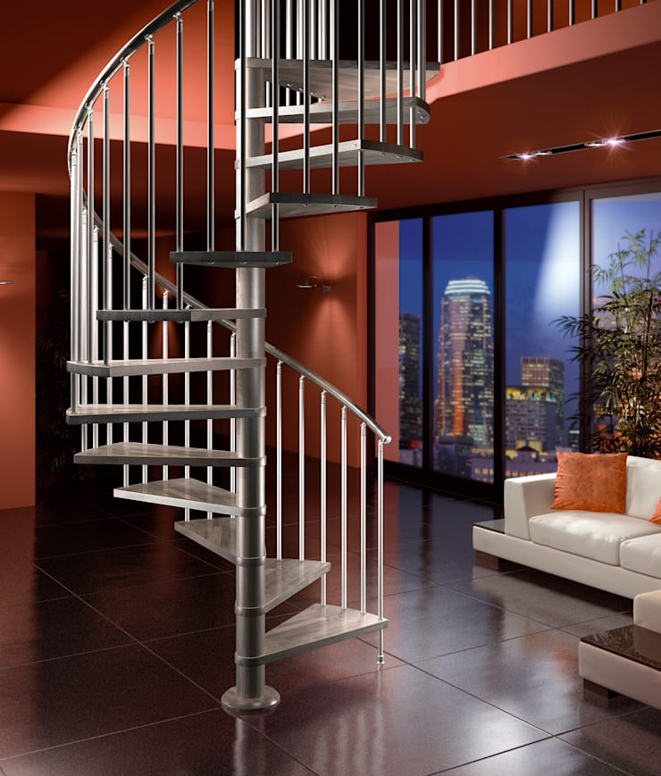Domestic Staircase:   by Estairs UK Ltd