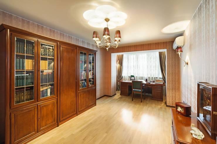 Дизайн двухуровневой квартиры в г. Санкт-Петербурге: Спальни в . Автор – Студия Павла Исаева