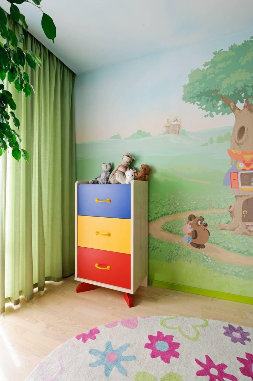 Редизайн четырехкомнатной квартиры в г. Саратов: Детские комнаты в . Автор – Павел Исаев