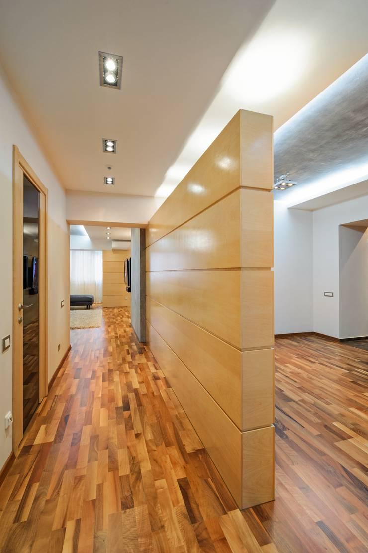 Редизайн четырехкомнатной квартиры в г. Саратов: Коридор и прихожая в . Автор – Павел Исаев