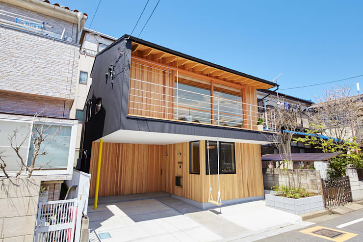 一級建築士事務所co-designstudio의  주택