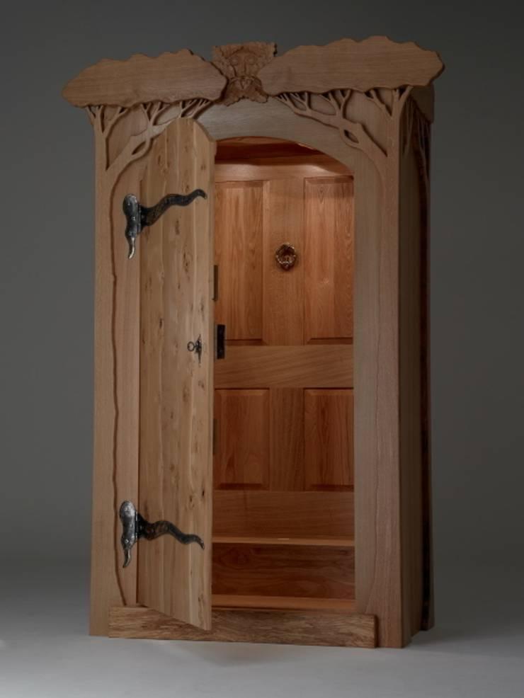 Oak Portal Wardrobe par Fine Furniture Ltd Moderne