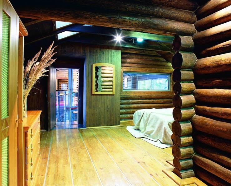 Баня в подмосковье: Спальни в . Автор – ARP Studio