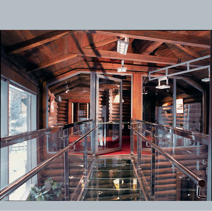 Баня в подмосковье: Бассейн в . Автор – ARP Studio