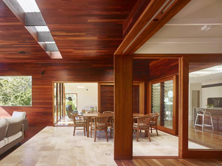 moderne Esszimmer von Shaun Lockyer Architects