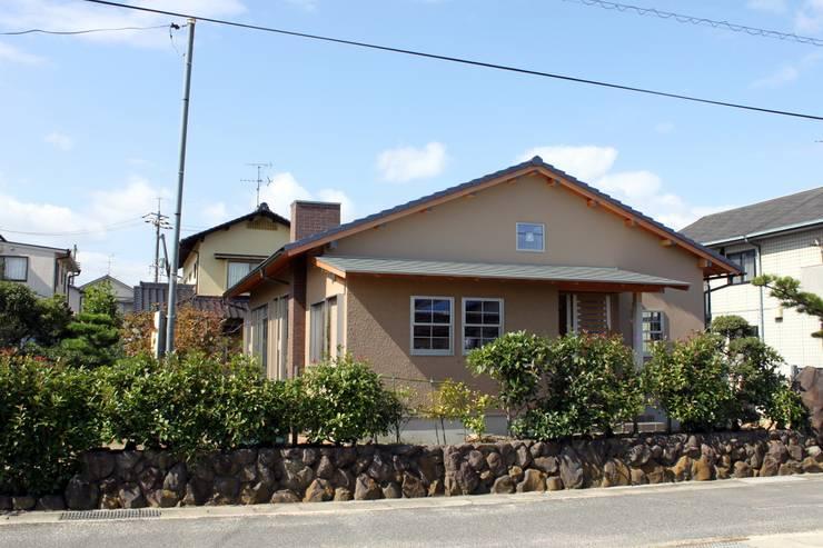 夢はかなえるもの: 石川泰之建築設計室が手掛けた家です。